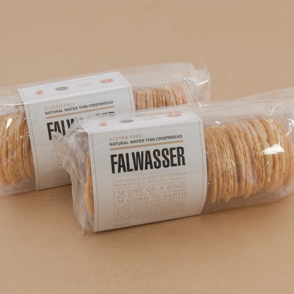 Falwasser Gluten Free Natural Wafers 120g