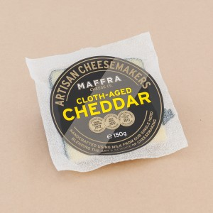 Maffra Cloth Aged Cheddar portion