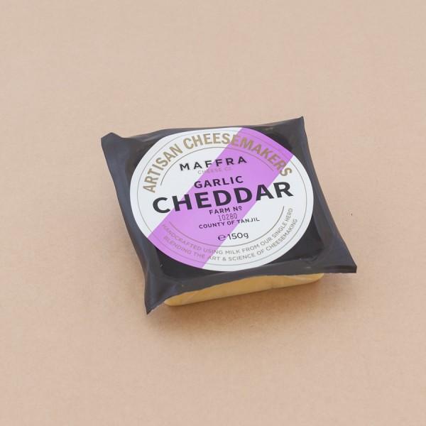 Maffra Garlic Cheddar 150g