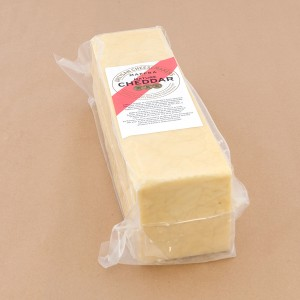 Maffra Mature Cheddar Unwaxed Block