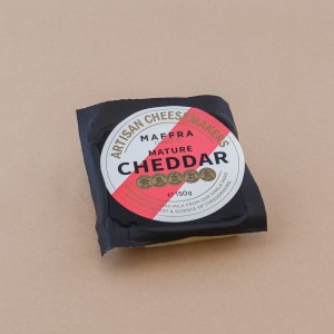 Maffra Mature Cheddar portion